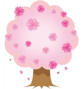 桜の木 イラスト