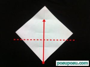 カブトムシの折り紙の折り方05