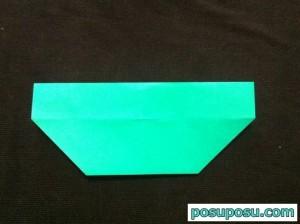 スイカの折り紙の折り方12