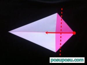 うさぎの折り紙の折り方(簡単)04