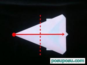 うさぎの折り紙の折り方(簡単)08