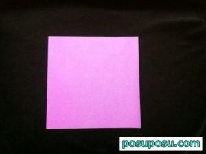 あやめの折り紙の折り方(簡単)01