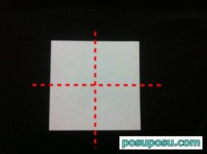 あやめの折り紙の折り方(簡単)02