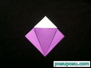 あやめの折り紙の折り方(簡単)06