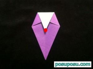 あやめの折り紙の折り方(簡単)11