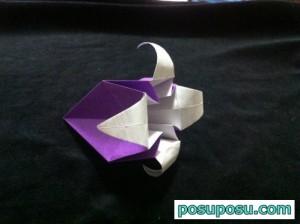 あやめの折り紙の折り方(簡単)13