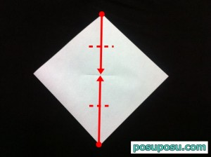 カブトムシの折り紙の折り方04