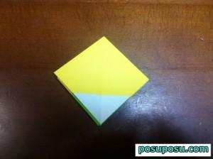 七夕飾り・折り紙でのくす玉の作り方09
