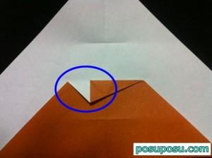 カブトムシの折り紙の折り方09