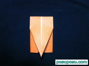 カブトムシの折り紙の折り方17