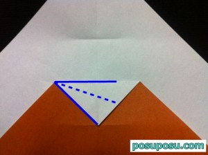 カブトムシの折り紙の折り方07