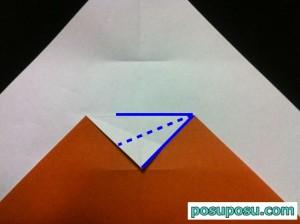 カブトムシの折り紙の折り方08