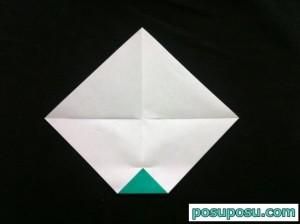 スイカの折り紙の折り方06