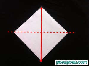 スイカの折り紙の折り方14