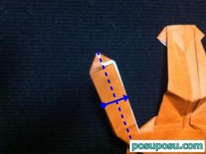 カブトムシの折り紙の折り方51