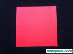 スイカの折り紙の折り方13