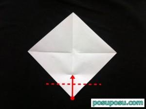 スイカの折り紙の折り方05