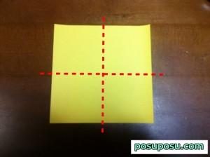 七夕飾り・折り紙でのくす玉の作り方05
