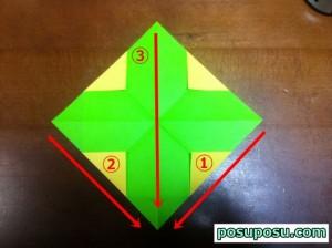 七夕飾り・折り紙でのくす玉の作り方08