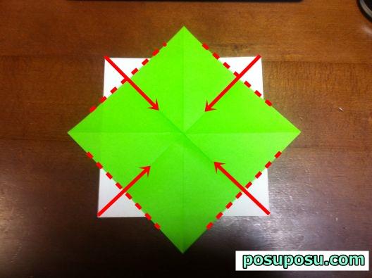 すべての折り紙 七夕 折り紙 くす玉 : 七夕飾り・折り紙でのくす玉の ...