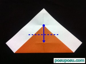 カブトムシの折り紙の折り方06
