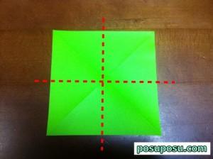 七夕飾り・折り紙でのくす玉の作り方04