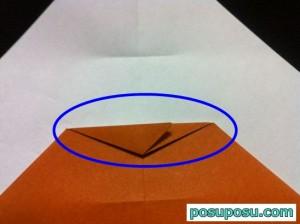 カブトムシの折り紙の折り方10