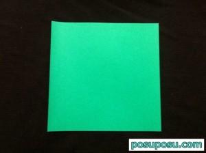 スイカの折り紙の折り方02