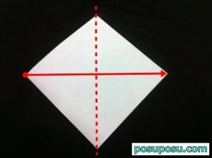 カブトムシの折り紙の折り方02