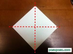 七夕飾り・折り紙でのくす玉の作り方03