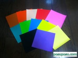 七夕飾り・折り紙でのくす玉の作り方01