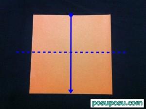 カブトムシの折り紙の折り方36