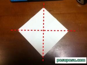 七夕飾り・折り紙でのくす玉の作り方06