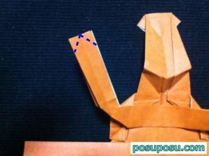 カブトムシの折り紙の折り方50