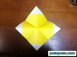 七夕飾り・折り紙でのくす玉の作り方10