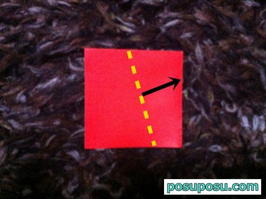 折り紙のりんごの折り方04