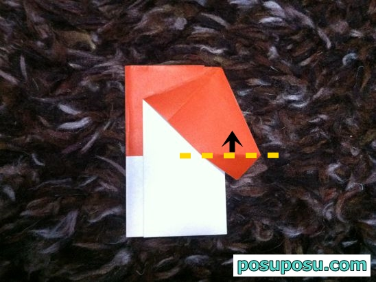 きのこの折り紙の折り方05