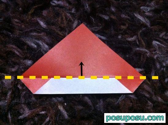 どんぐりの折り紙の簡単な折り方05