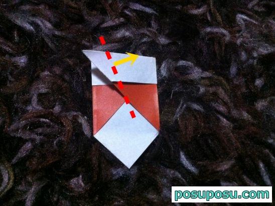 どんぐりの折り紙の簡単な折り方07