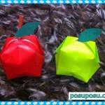りんごの折り紙!立体的に作れる超簡単な方法はコレ!おいしそう♪