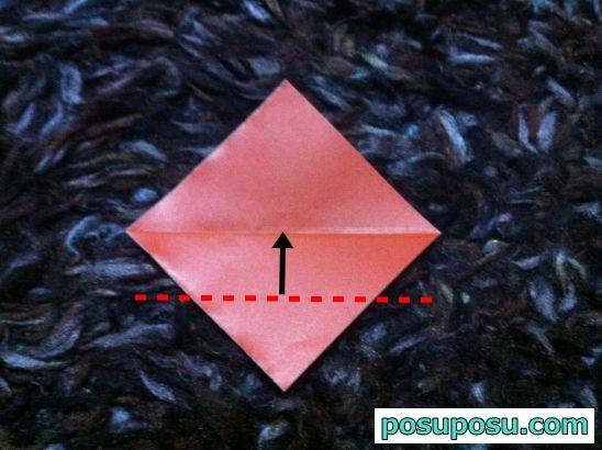 どんぐりの折り紙の簡単な折り方03