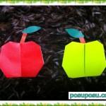折り紙!りんごの折り方は?超簡単7ステップで完成!画像つき♪
