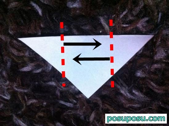 どんぐりの折り紙の簡単な折り方06